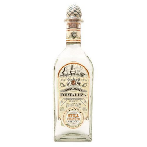 Fortaleza Still Strength Tequila Blanco - 750ml