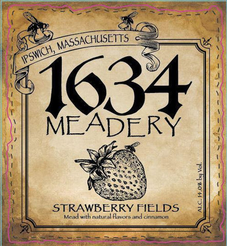 1634 Meadery Strawberry Fields
