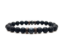 Load image into Gallery viewer, Tibetan Lavastone Bracelet