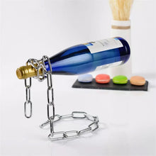Load image into Gallery viewer, Magic Chain Wine Bottle Holder