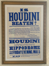 Load image into Gallery viewer, Original Houdini Broadside Poster