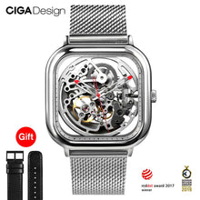 Load image into Gallery viewer, CIGA Design Skeleton Watch
