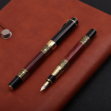 Load image into Gallery viewer, The Professor's Wood Grain Luxury Fountain Pen