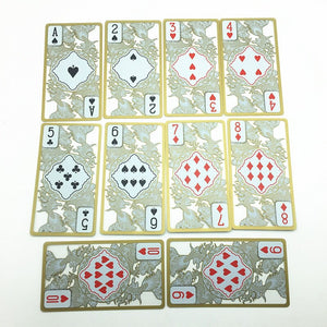 Gold Edge Playing Cards