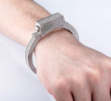 Load image into Gallery viewer, Crystal Handcuff Bracelet