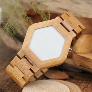 Invisible Wooden Watch