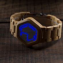 Load image into Gallery viewer, Invisible Wooden Watch