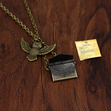 Load image into Gallery viewer, Owl & Envelope Necklace