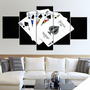 5 Panel HD Printed Playing Cards