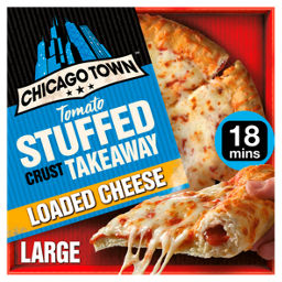 Cheese Pizza Stuffed Crust Chicago Town