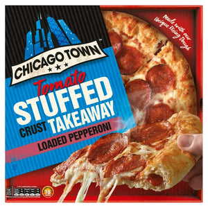Pepperoni Pizza Stuffed Crust Chicago Town