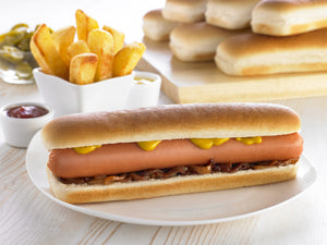 Euro Jumbo Hot Dog Roll (6)