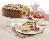 Raspberry & White Chocolate Cheesecake (14ptn)