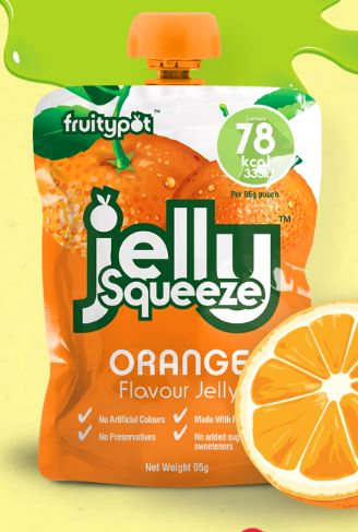 Orange Jelly Pouch (16x95g)