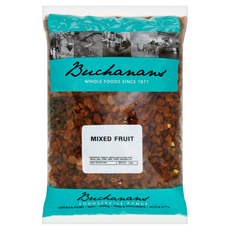 Dried Mixed Fruit (3kg)