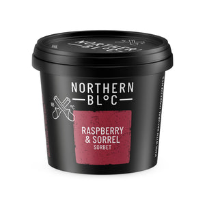 Rasp & Sorrel Sorbet Tubs (24x100ml)