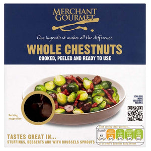 Whole Chestnuts  (vac pack tray) 1x180g