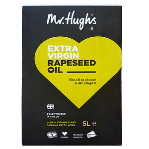 Cold Pressed Rapeseed Oil 5lt