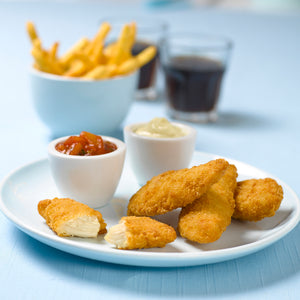 Breaded Chicken Fillets Goujons (2kg)