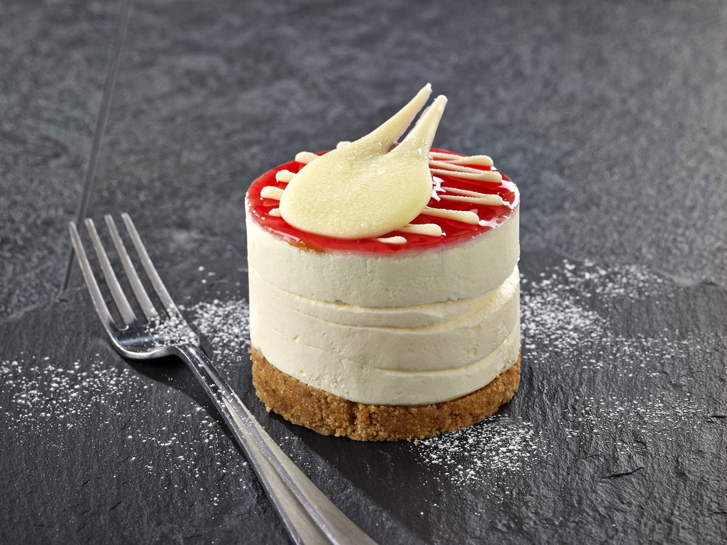Strawberry & Prosecco Cheesecake