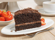 Naughty Chocolate Cake (GF) (14pptn)