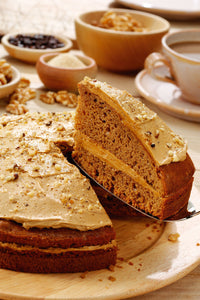 Coffee and Walnut Cake (14ptn)