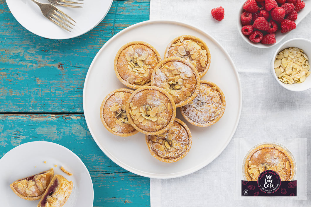 Wrapped Raspberry & Almond Tart (GF) (12)