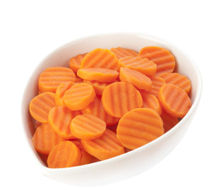 Fluted Carrots (Sliced) (2.5kg)