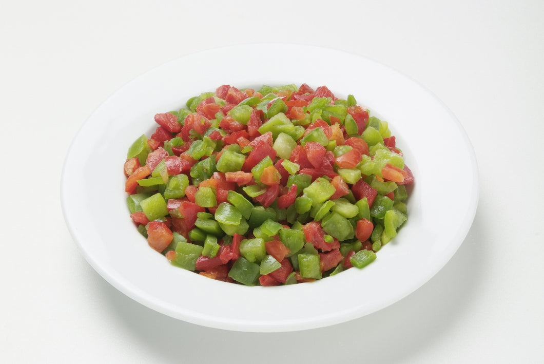 Diced Mixed Peppers (1kg)