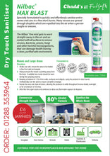 Load image into Gallery viewer, Max Blast Dry Touch Sanitiser from Nilco 750ml