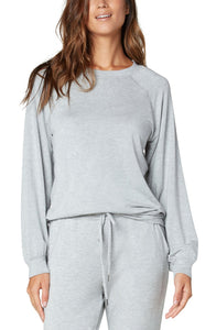 Sweatshirt with Raglan Sleeve