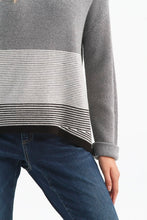 Load image into Gallery viewer, Sweater with Stripe Detail