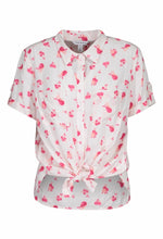 Load image into Gallery viewer, Short Sleeve Print Blouse