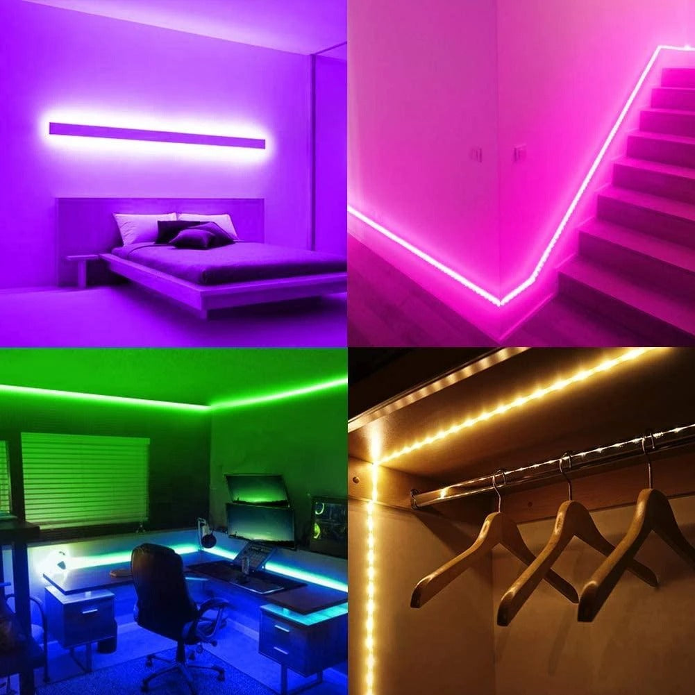 Color Changing LED Light Strip 2.0 (More Colors & Modes) – lightstripsco
