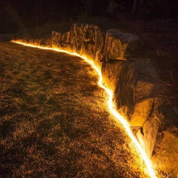 solar garden rope lights