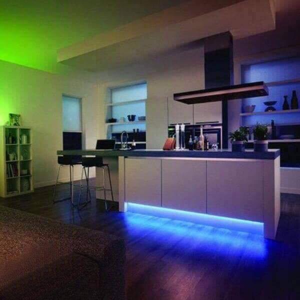 Color Changing LED Light Strip (Remote Included)