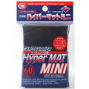 Sleeves - KMC Hyper MAT Mini Blue (60pcs)