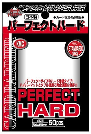 KMC Perfect Hard Standard Size (64x89mm) - 50pcs