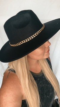 Luxe chain hat