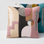 Elizabeth Abstract Throw Pillow Cover