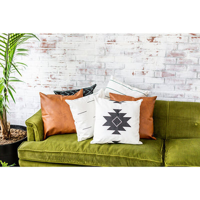 6 PC AZTEC MODERN THROW PILLOW COVER SET