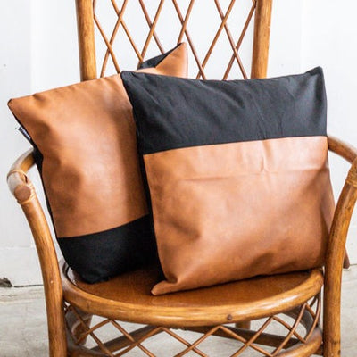 ONYX THROW PILLOW COVERS (SET OF 2)