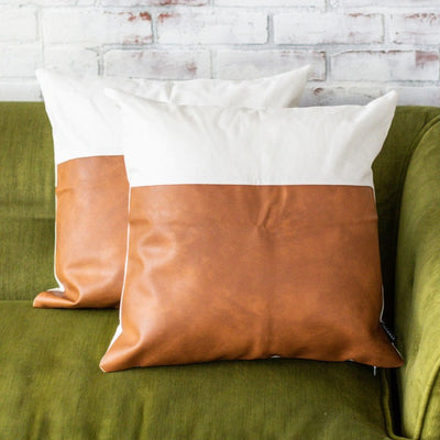 LUNA THROW PILLOW COVERS (SET OF 2)