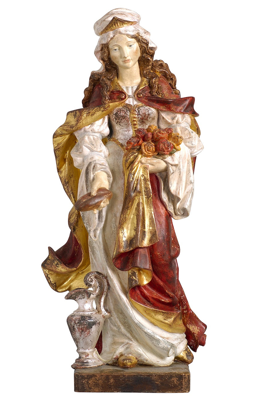 Saint Elizabeth with Bread Statue