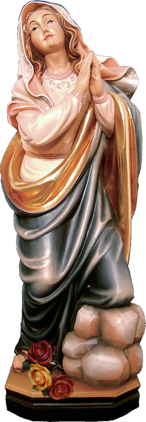 Saint Rosalia with Roses Figurine