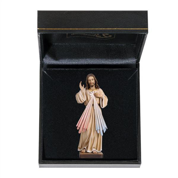 Miniature Divine Mercy of God Figurine in Gift Box