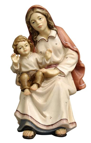 Kostner Nativity Scene Shepherdess with child Figurine