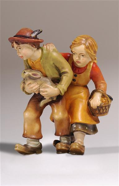 Kostner Nativity Scene Pair of children Figurine