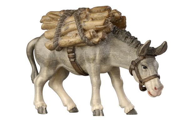 Kostner Nativity Scene Donkey with wood Figurine