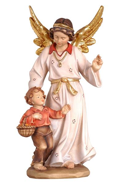 Kostner Nativity Scene Guardian angel with boy figurine